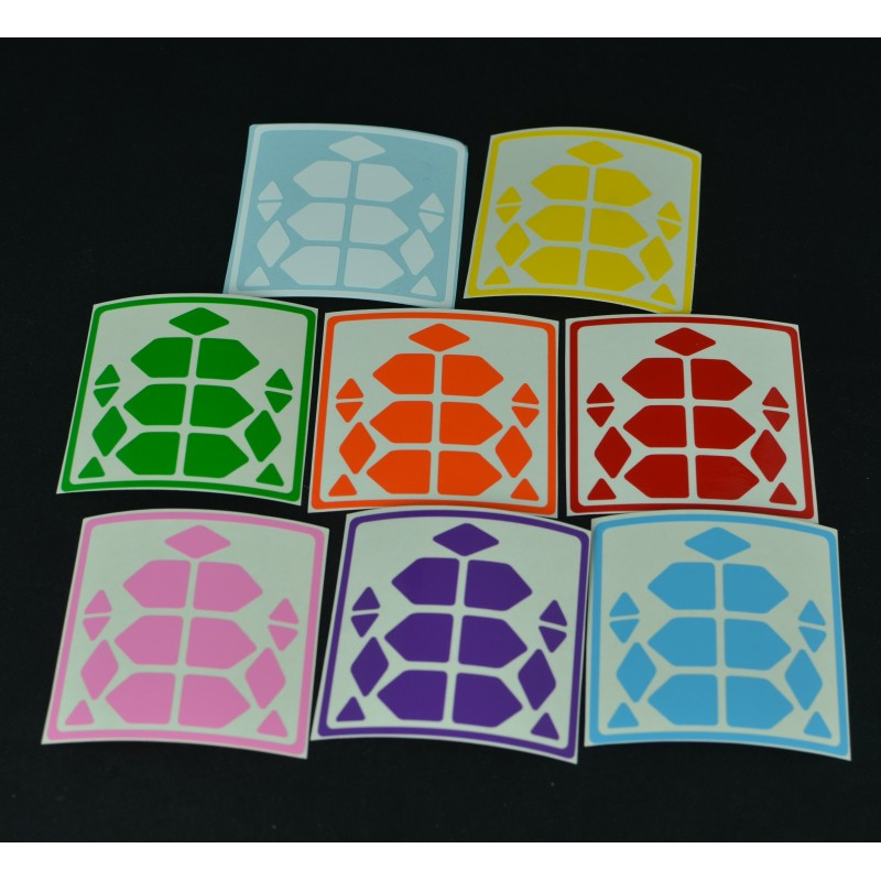 Sticker Skewb Xtreme 8 Colores