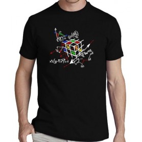 Camiseta Cubo de Rubik Matemáticas
