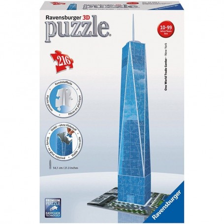 Puzzle Ravensburger 3D One World Trade Center 216 Piezas