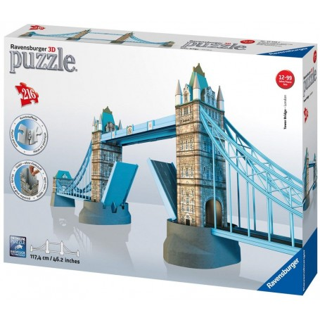 Puzzle 3D Ravensburger Tower Bridge 216 Piezas