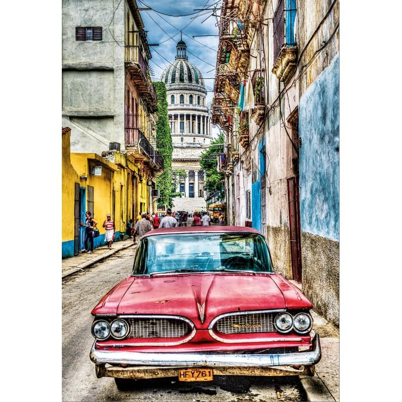 Puzzles Educa Coche en la Habana 1000 Piezas