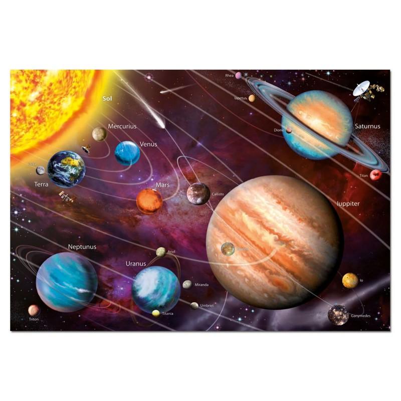 Puzzles Educa Sistema Solar Neón 1000 Piezas