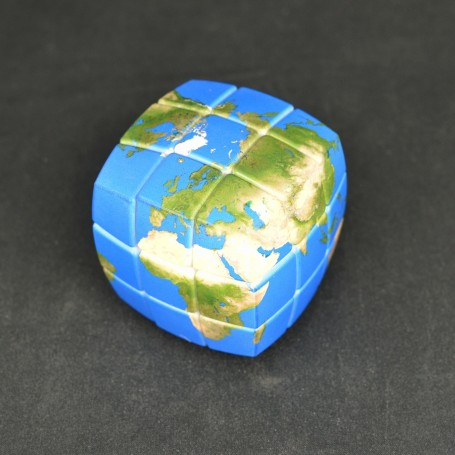 V-Cube 3x3 Mapa del Mundo