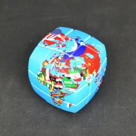 V-Cube 3x3 Mapa del Mundo Político