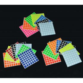 Z-Stickers 7x7 Shengshou Mini