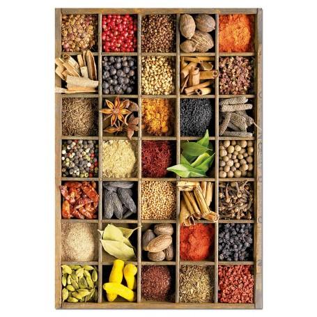 Puzzle Educa Especias 1000 Piezas