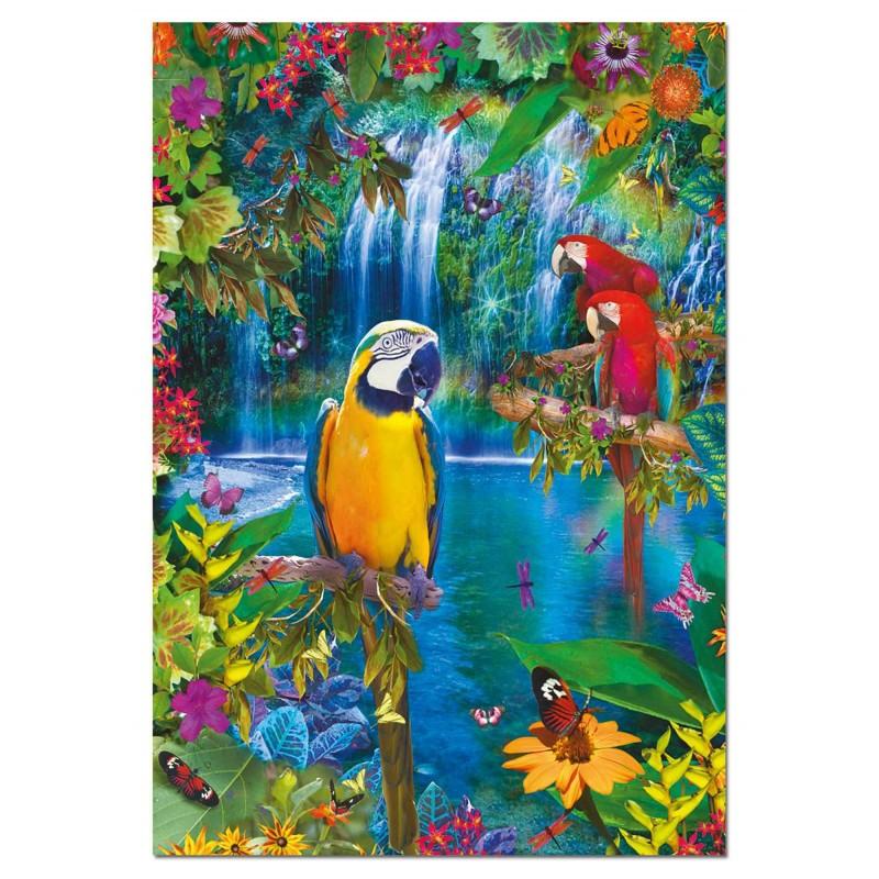Puzzle Educa Paraíso Tropical 500 Piezas