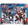 Puzzle Educa Captain America: Civil W 2X500 Piezas