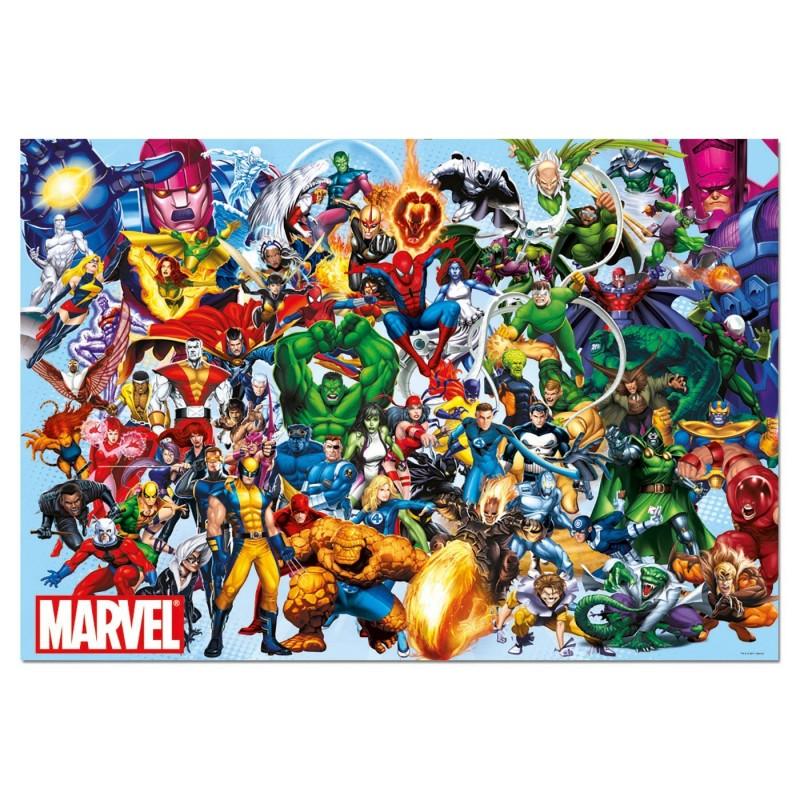 Puzzle Educa Los Heroes De Marvel 1000 Piezas