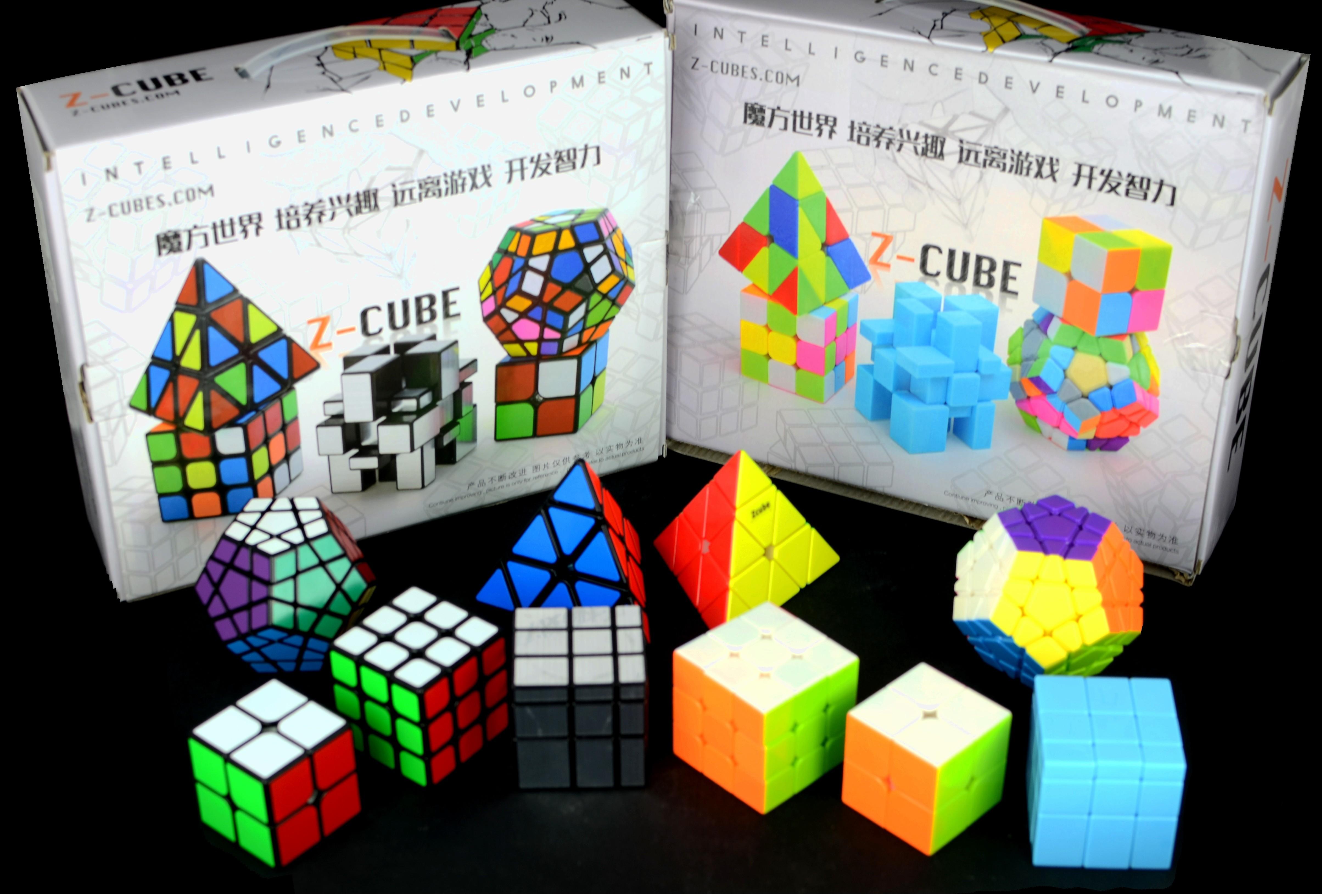 Pack De Cubos Rubiks