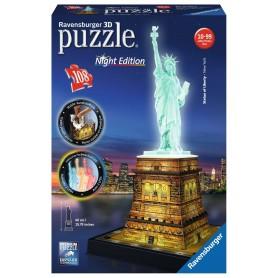 Puzzle Ravensburger Estatua Libertad Con Luz 3D