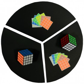 Cubo de Rubik 4x4 Luminoso 6 Colores