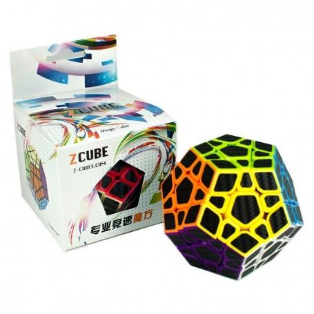 Z-Cube Megaminx Fibra de Carbono