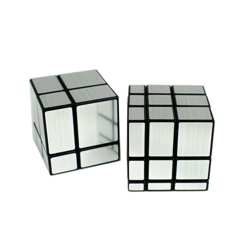 Pack Mirror Cube 2x2 + 3x3 Plata