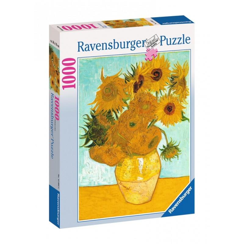 Puzzle Ravensburger Los girasoles de 1000 Piezas