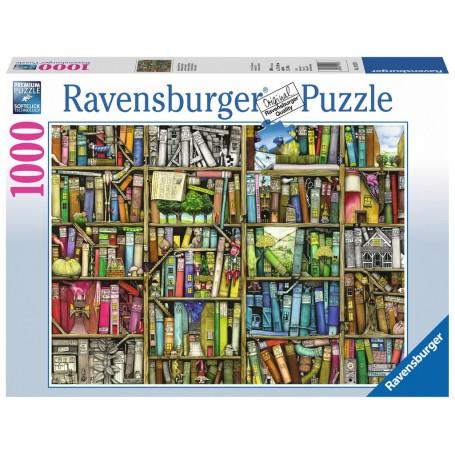 Puzzle Ravensburger La librería mágica de 1000 Piezas