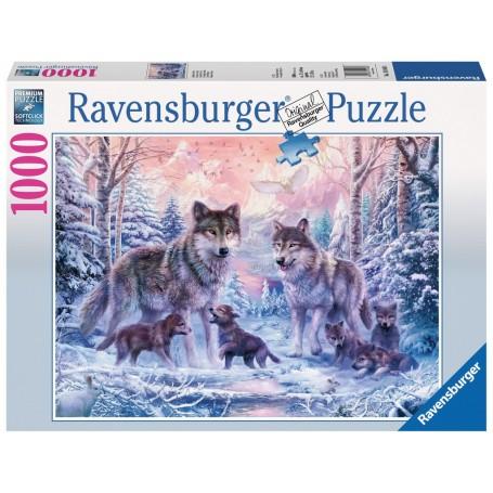 Puzzle Ravensburger Lobos del Artico de 1000 Piezas