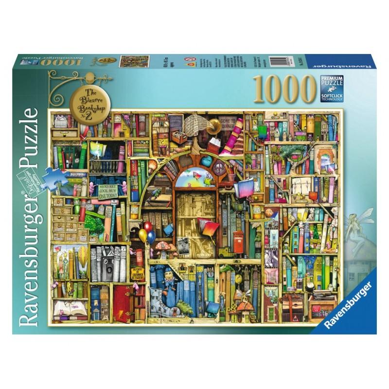 Puzzle Ravensburger La biblioteca extraña 2 de 1000 Piezas