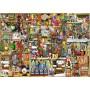 Puzzle Ravensburger El Armario de la Navidad de 1000 Piezas
