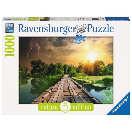 Puzzle Ravensburger Mística Luz de 1000 Piezas