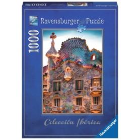 Puzzle Ravensburger Casa Batlló, Barcelona de 1000 Piezas