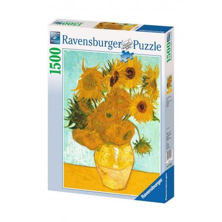 Puzzle Ravensburger Van Gogh:Los girasoles de 1500 Piezas