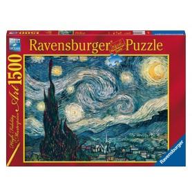 Puzzle Ravensburger Van Gogh:Noche estrellada de 1500 Piezas