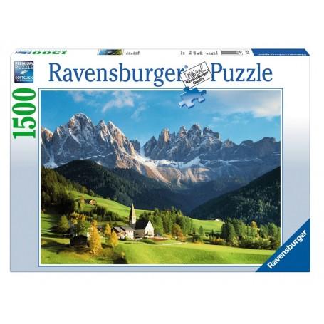 Puzzle Ravensburger Dolomitas de 1500 Piezas