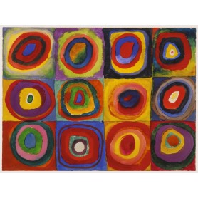 Puzzle Ravensburger Estudio del Color de 1500 Piezas