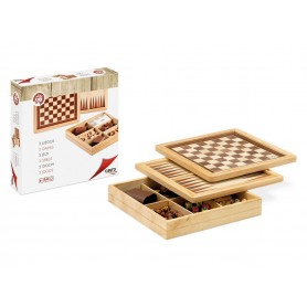 Ajedrez, Damas y Backgammon