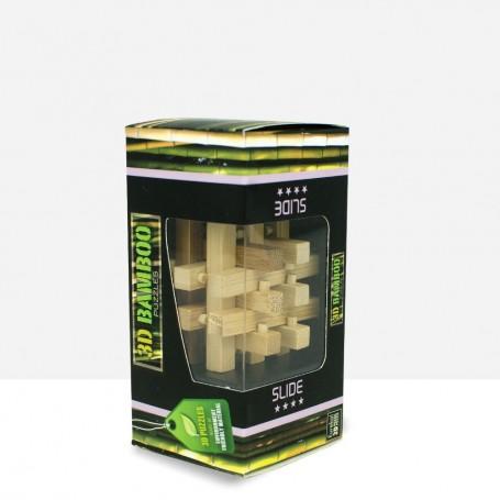 Puzzle Bambú Slide 3D