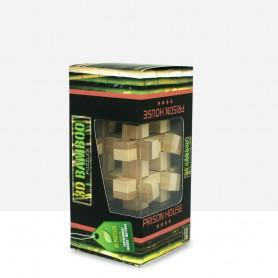 Puzzle Bambú Casa prisión 3D