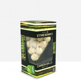 Puzzle Bambú Bolas de cañón 3D