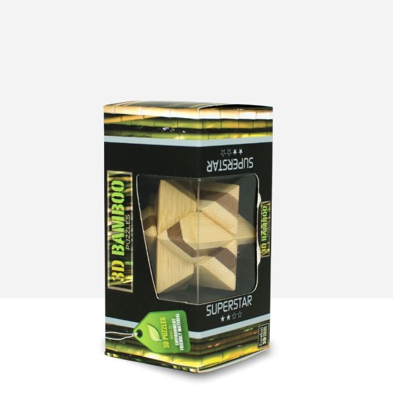 Puzzle Bambú Superestrella 3D