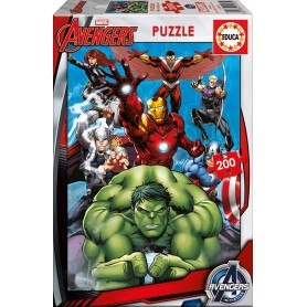 Puzzle Educa Los Vengadores 200 Piezas