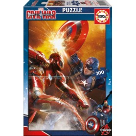 Puzzle Educa Capitan America Civil War 200 Piezas