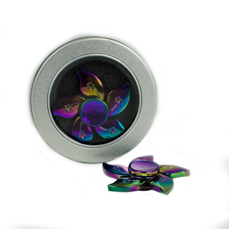 Fidget Spinner Rainbow Star