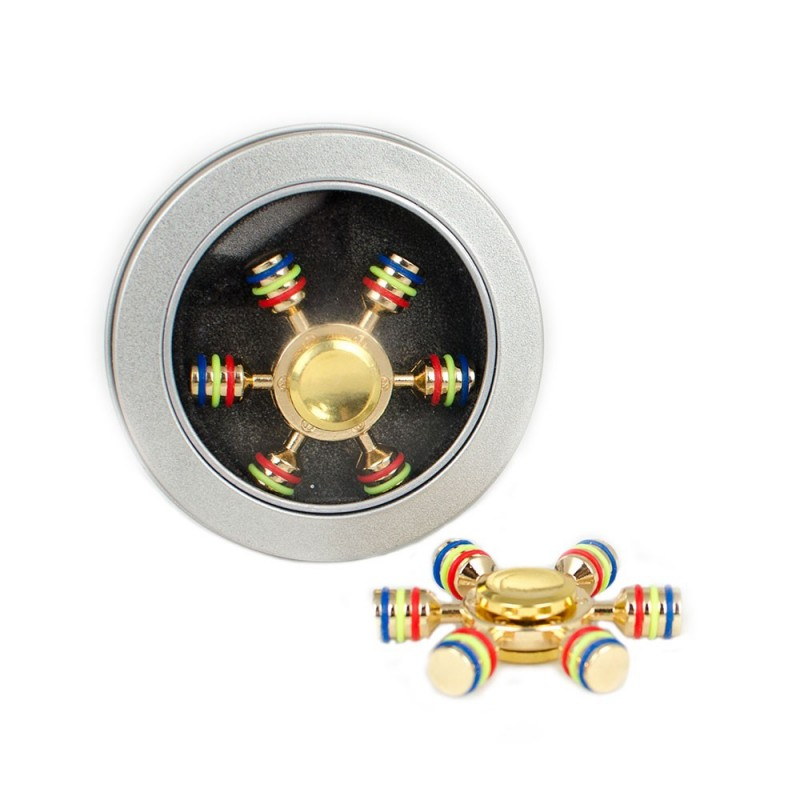Fidget Spinner 6 Ejes