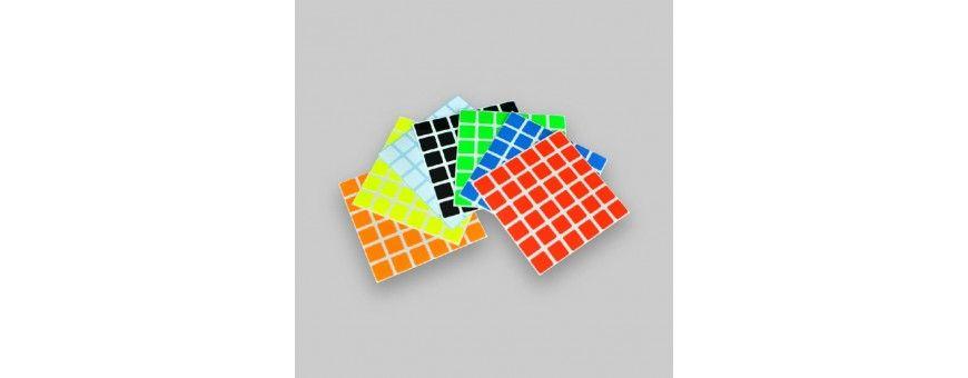 Sticker para cubos de rubik