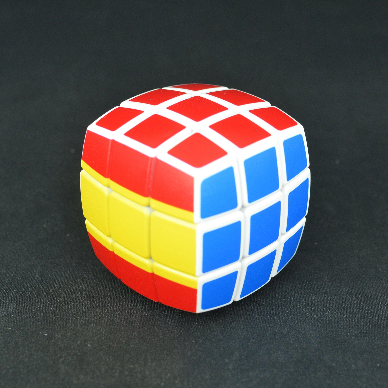 V cube 3x3 bandera de espa a for Rubik espana